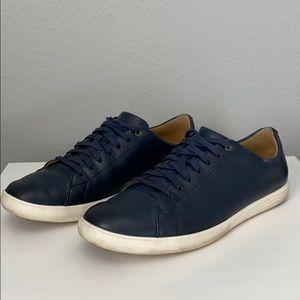 Cole Haan 👟 Grand ØS Blue Leather Shoes Lace Up